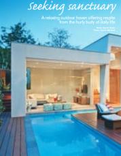 Backyard and Garden Design Magazine - Seeking Sanctuary
