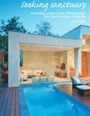 Backyard and Garden Design Magazine - Seeking Sanctuary