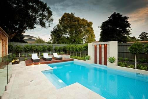 Balwyn pool view