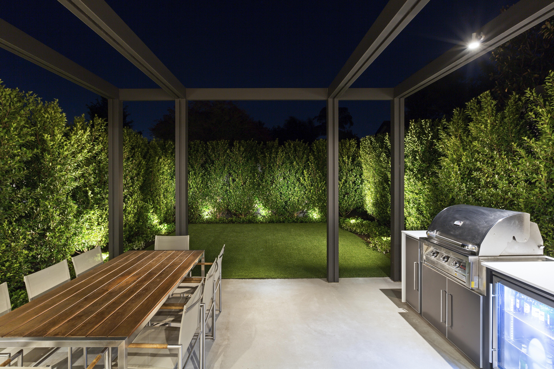 Hampton rear garden